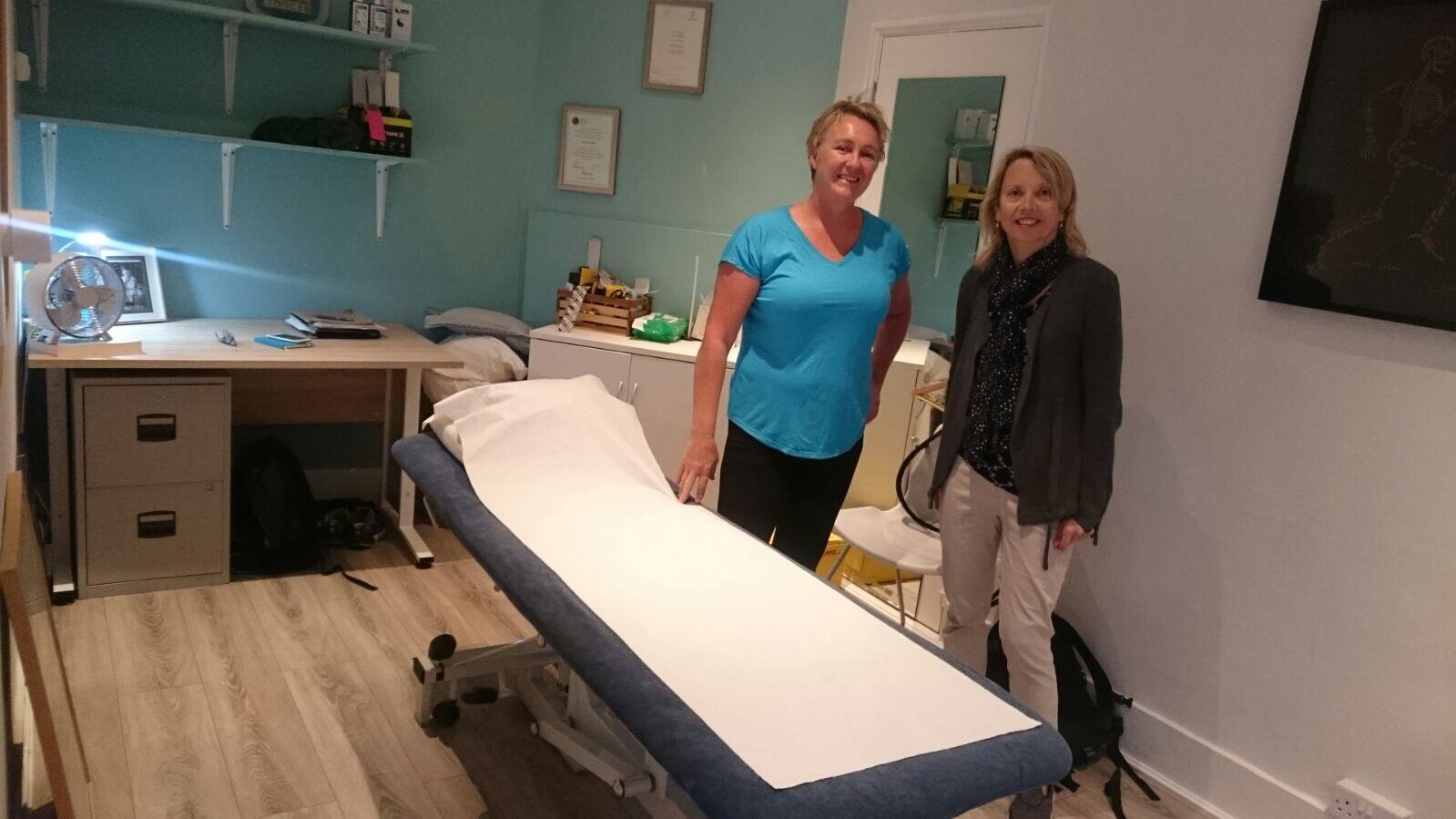 Lisa Opie of Osteopath West in Ealing