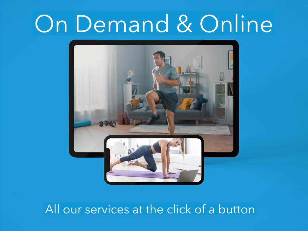 Online personal training ealing